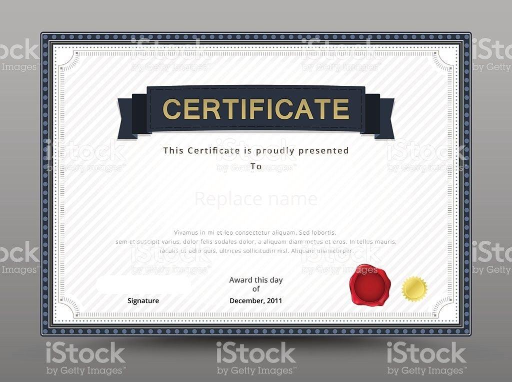 Elegant Certificate Template Business Certificate Formal Theme ...