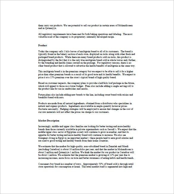 Product Plan Template. Product Proposal Template Sample Product ...