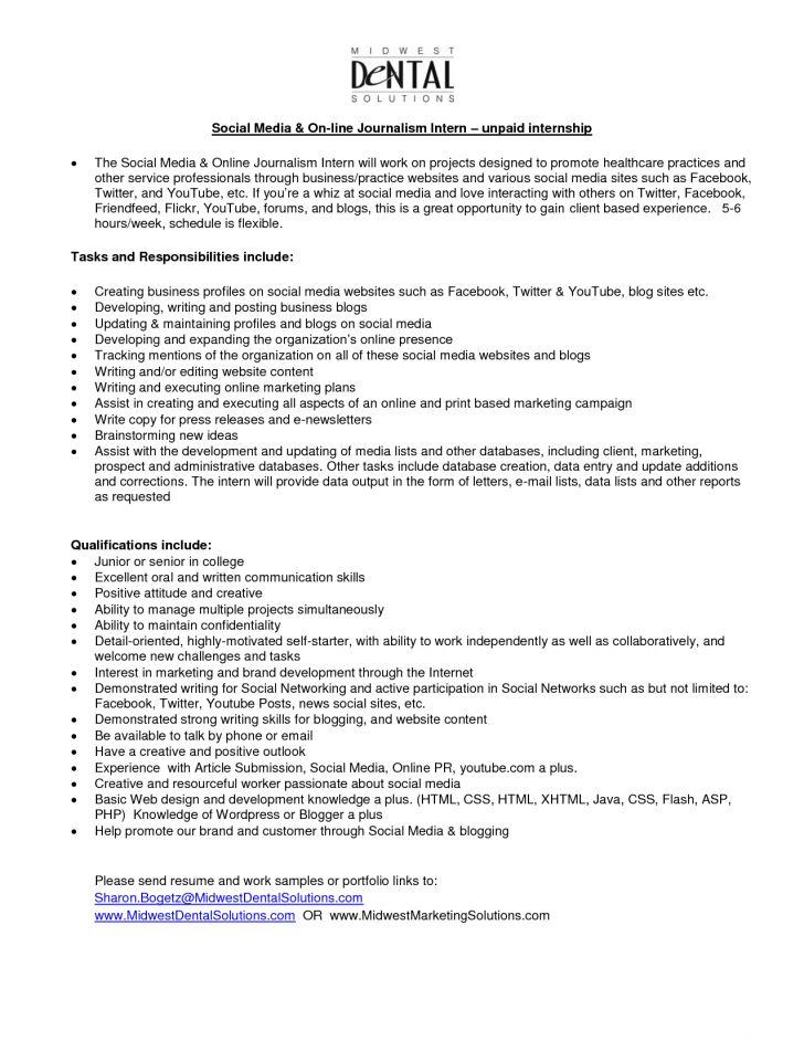 Projects Ideas Journalism Cover Letter 12 Sample Professional ...