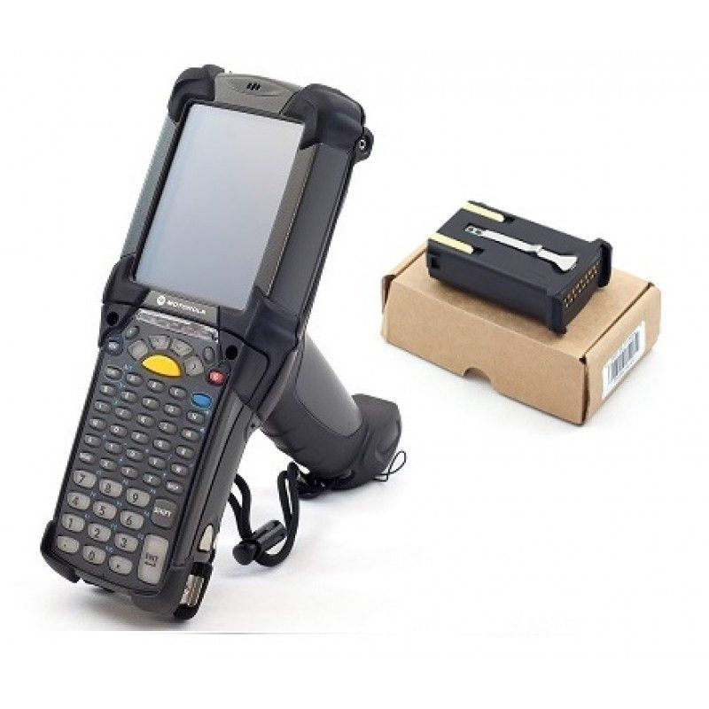 Zebra MC92N0-G30SXEYA5WR MC9200 Handheld Mobile Computer, Compact ...