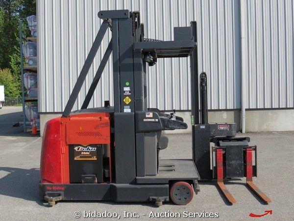 Raymond SA-CSR30T Swing-Reach Forklift Stacker Order Picker 48V ...