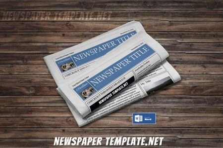 Newspaper Template, Microsoft Word Newspaper Templates for Kids ...