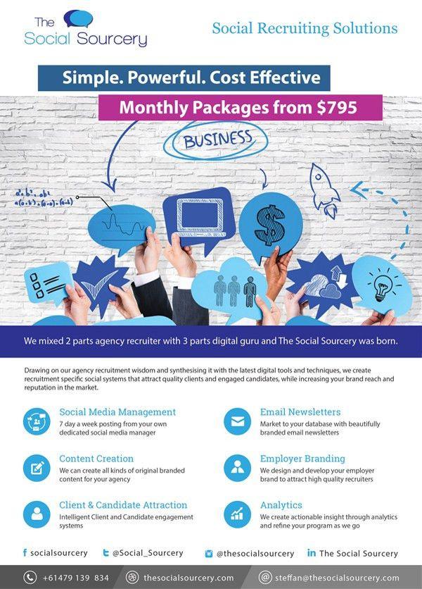 Flyer Design for Digital Marketing Agency – Brochure Design
