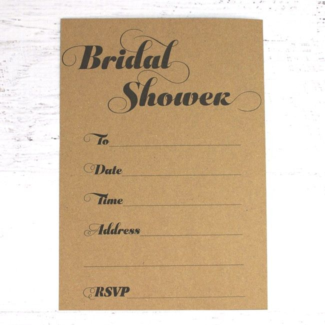 Free Printable Bridal Shower Invitations and Straw Flags — EVENT 29