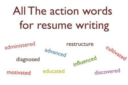 examples of action verbs for resumes action verbs resume best