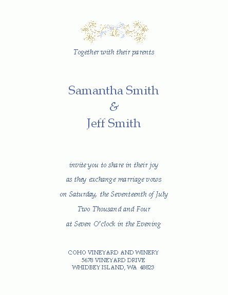 Free Wedding Invitation Templates – Microsoft Word Templates