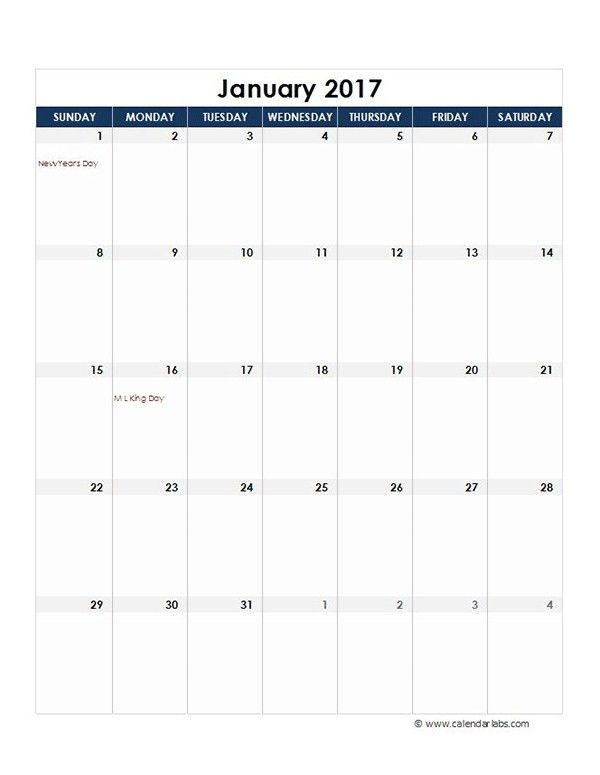 Ms Office Calendar Templates 2017 | Calendar Picture Templates
