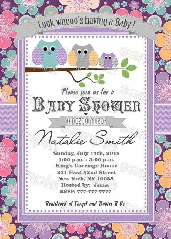 Best Collection Of Free Printable Baby Shower Invitations ...
