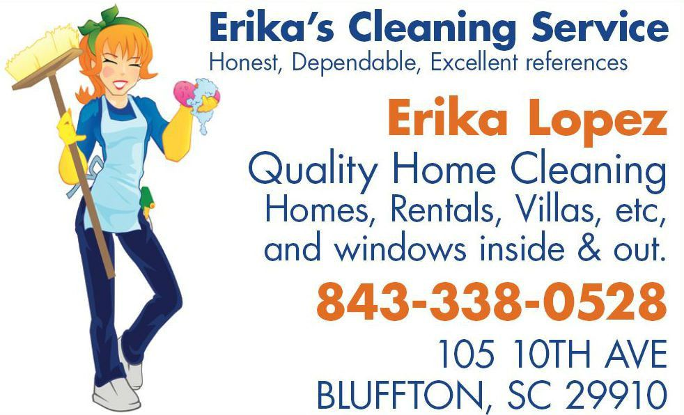Erika's House Cleaning Services LLC | Bluffton, SC