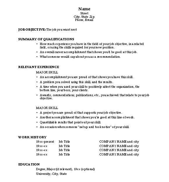 Sample Resume For Fresh Graduate | jennywashere.com