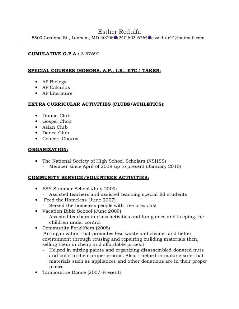 Mesmerizing Resume Recommendations 1 Resume Format For - Resume ...