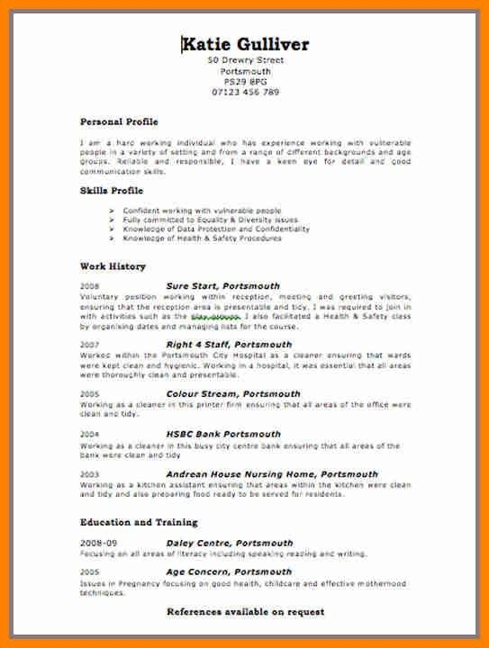 3+ resume layout templates | forklift resume