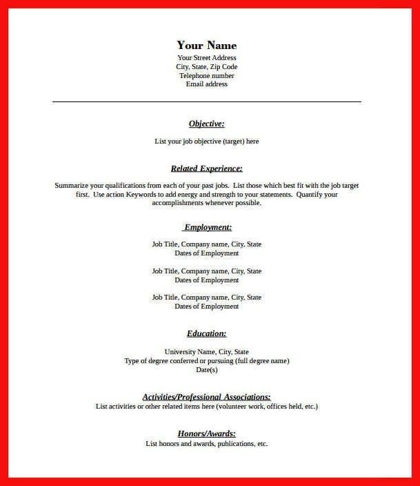 resume sample pdf format | apa example