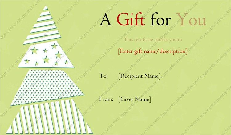 Gift Certificate Templates - Editable and Printable in Word