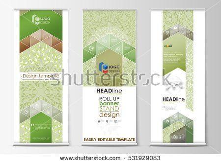 Social Media Posts Set Business Templates Stock Vector 502988539 ...
