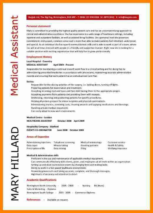 medical assistant resume objective samples