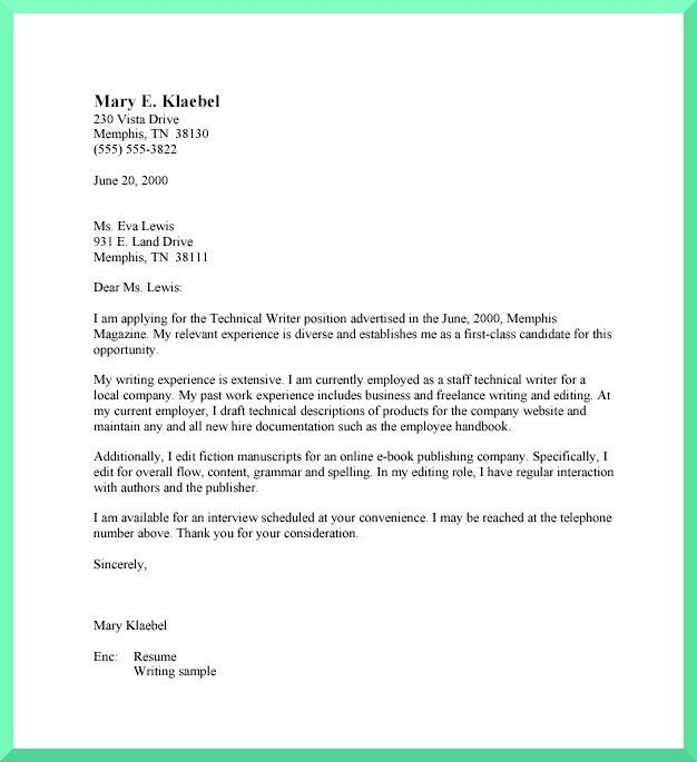 Business Letter Styles Examples | The Best Letter Sample