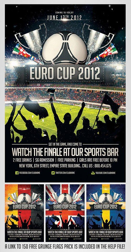Top 20 Soccer / Football Flyer Templates   56pixels.com