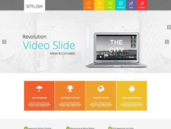 45+ Premium & Free HTML5 Templates - DesignOlymp
