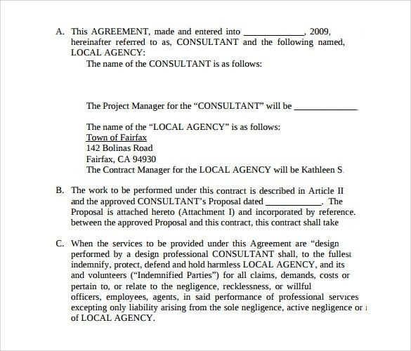 Contract Proposal Template - 9+ Free Samples, Examples, Format