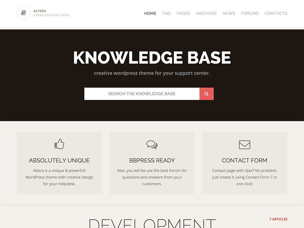10+ Best Knowledge Base & Wiki WordPress Themes 2017