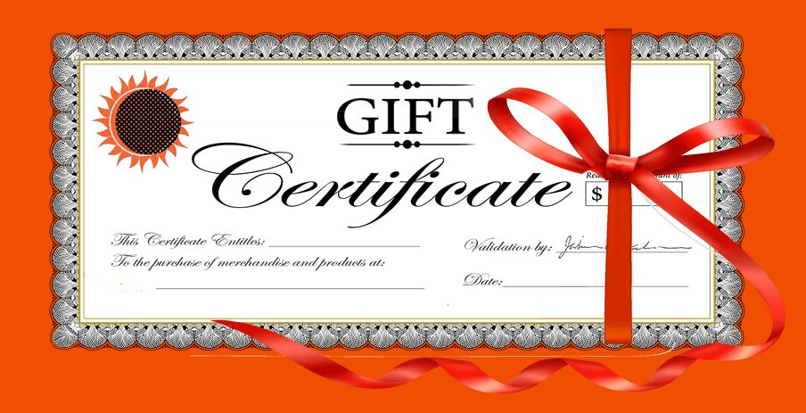 Online Gift Certificate Template | 5 Keywords That Make Your ...