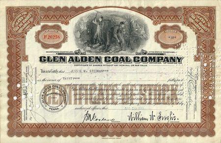 Glen Alden Coal and Farris v. Glen Alden Corp ...