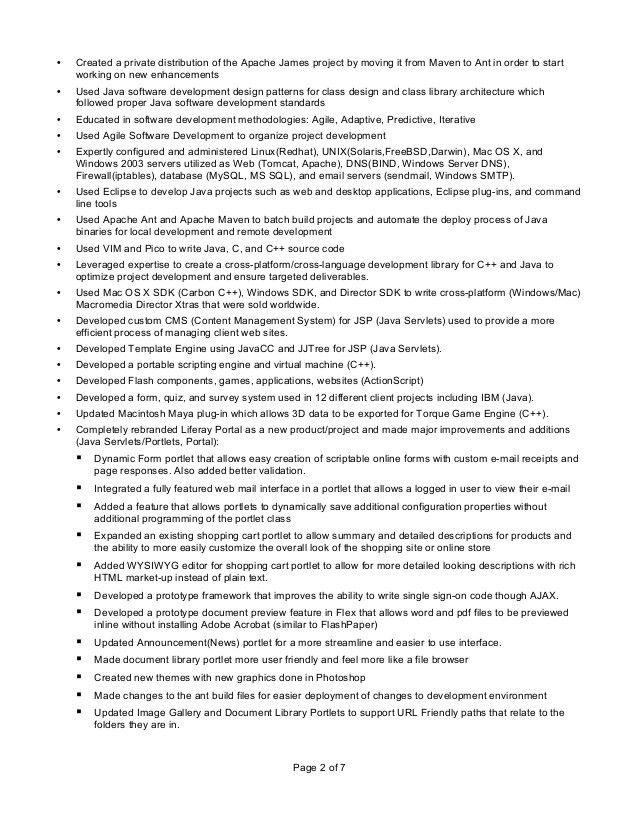 Myron L Stewart Resume (Technical)