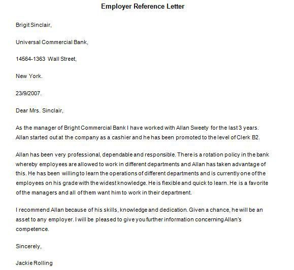 Personal Reference Letter For A Family Member - Cover Letter Templates