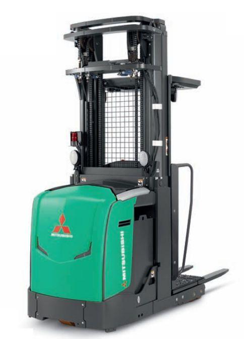 Vertical order-picker / high-level - EOP15N3 - Mitsubishi Forklift ...