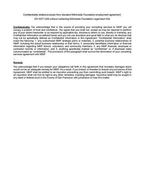File:WMF Employment Agreement Confidentiality Clauses-2013.pdf ...