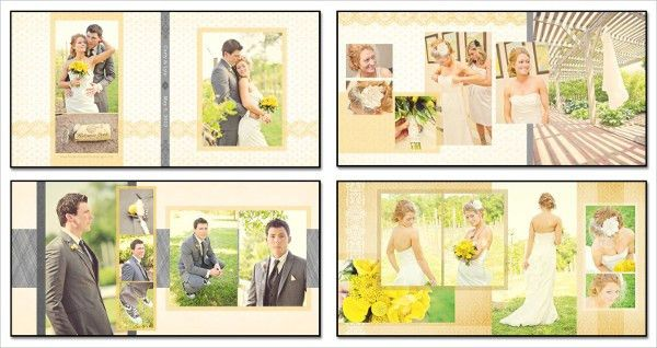 Wedding Album Templates - Free & Premium Download