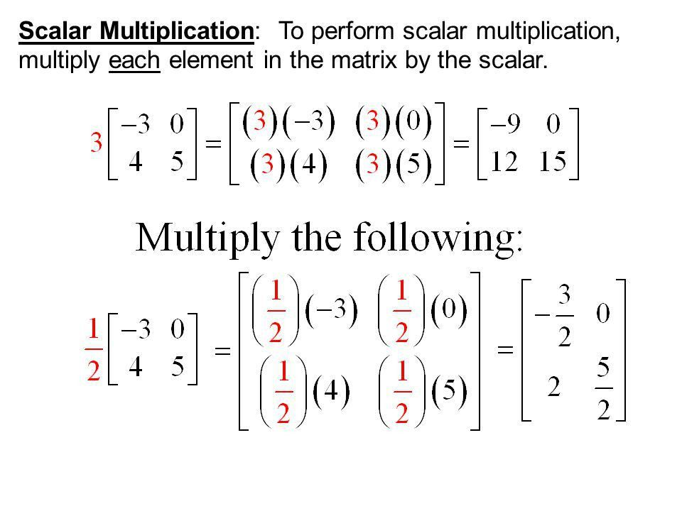 Section 13-4: Matrix Multiplication - ppt download
