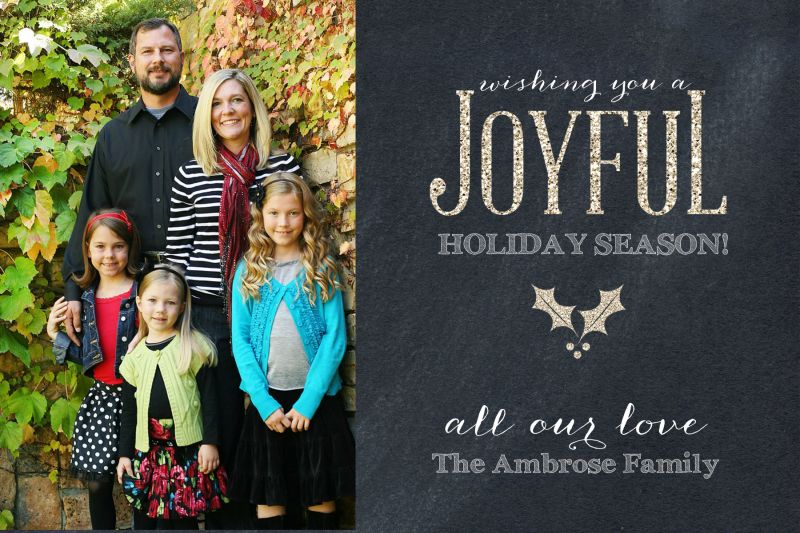 2013 Christmas Photo Cards | Sweet Simplicity Creative