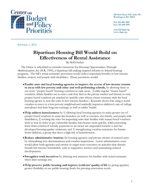 Housing Bill Unanimously Passed by House Would Build on ...