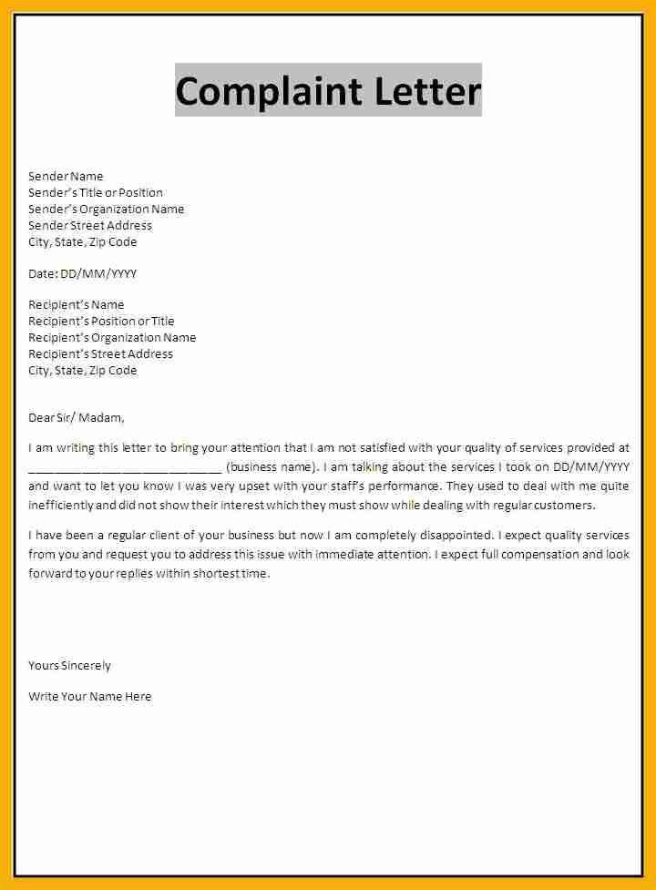 9+ how to write a complaint letter | data analyst resumes