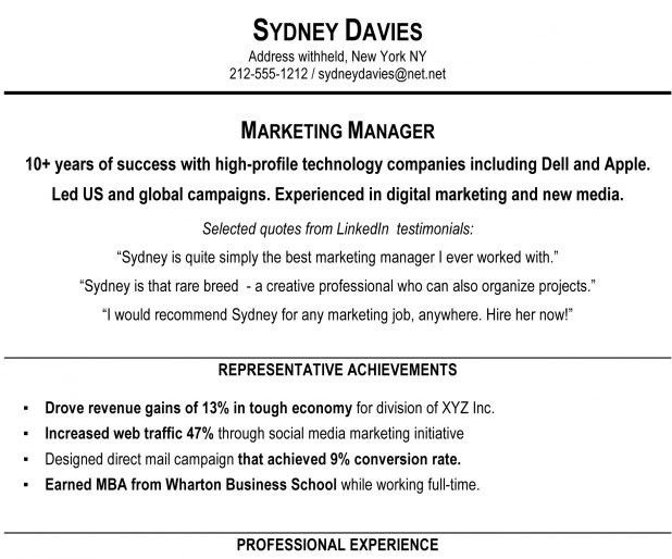 Example Of Resume Summary. Examples Of Resume Summary Resume ...