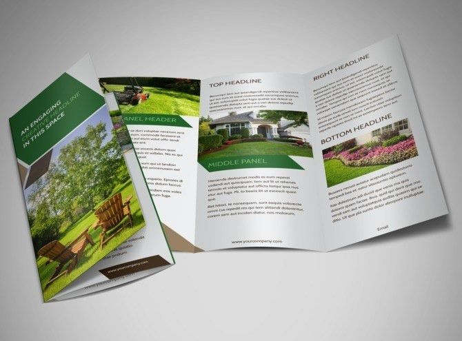 Green Lawn Care Flyer Template | MyCreativeShop