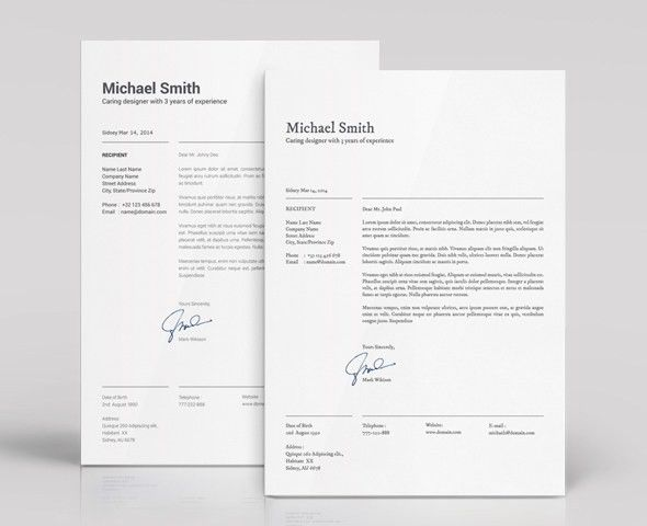 modern resume resume design cv template professional resume ...