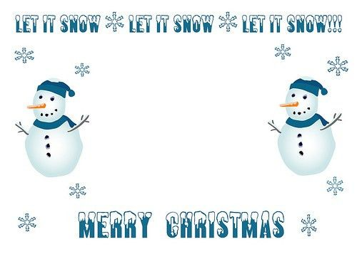Free Christmas Cards Templates: Create Xmas Cards for Sending to ...