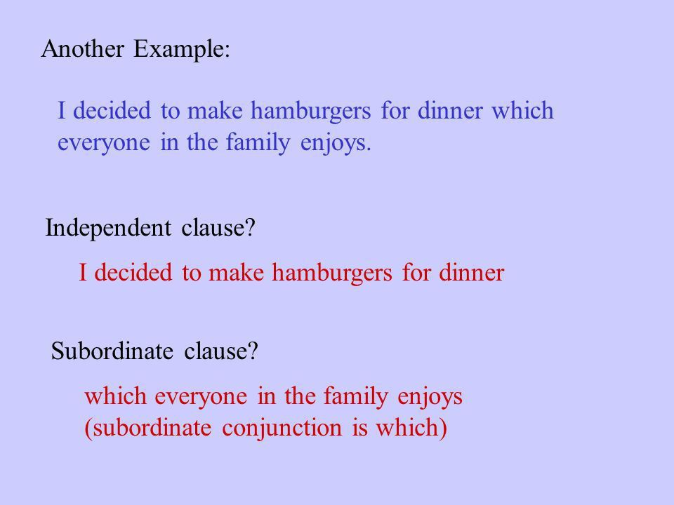 Independent and Subordinate Clauses - ppt download