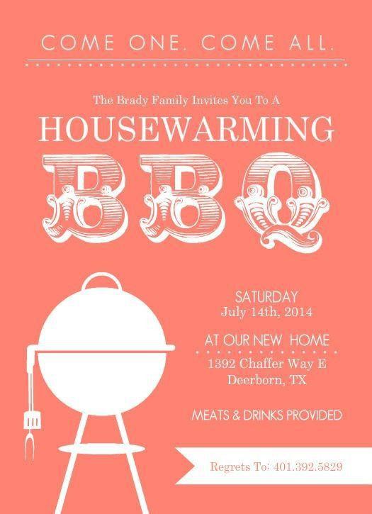 Free Printable Housewarming Party Invitations Templates | cimvitation