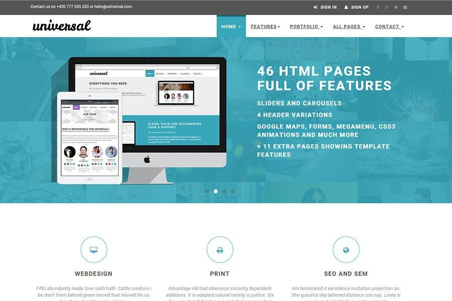 Free Bootstrap Templates - 25 Awe-inspiring Bootstrap themes by ...