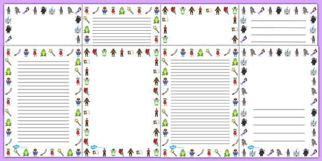 Fairy Tale Page Borders - fairy tale, page, borders, page
