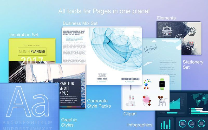 Toolbox for Pages - Templates on the Mac App Store