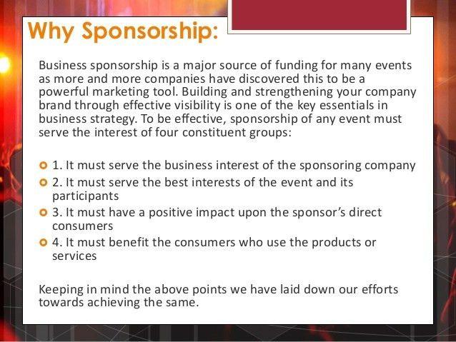 Sponsorship proposal for COCO GRANDE - 2014