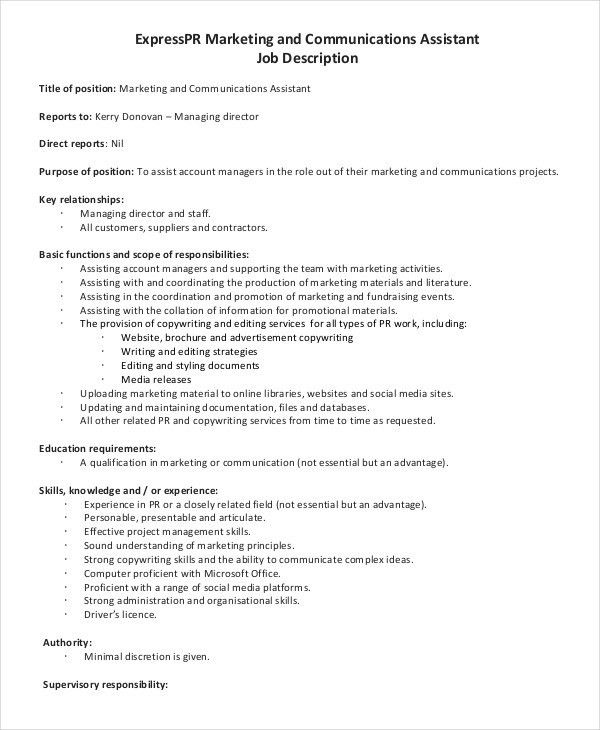 Office Assistant Job Description. Beth An Administrative Assistant ...