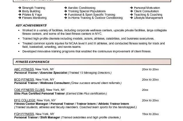 zumba instructor resume sample virtren. resume emily koval 6626 ...