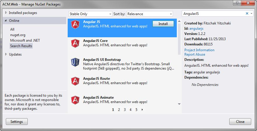 The World's Simplest AngularJS Example in Visual Studio -Deborah's ...