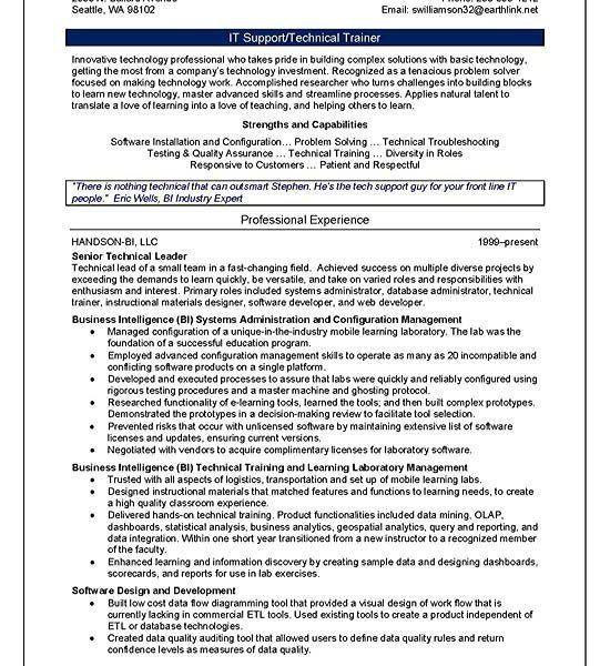Trainer Resume | haadyaooverbayresort.com